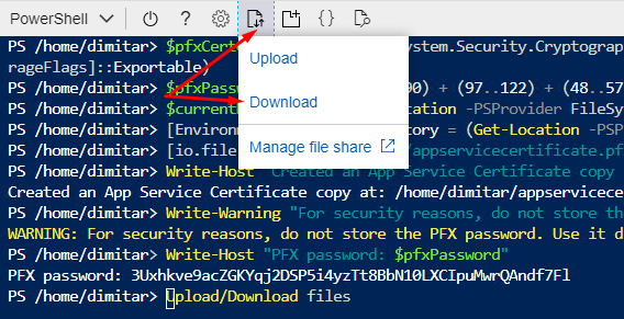 Azure Powershell download